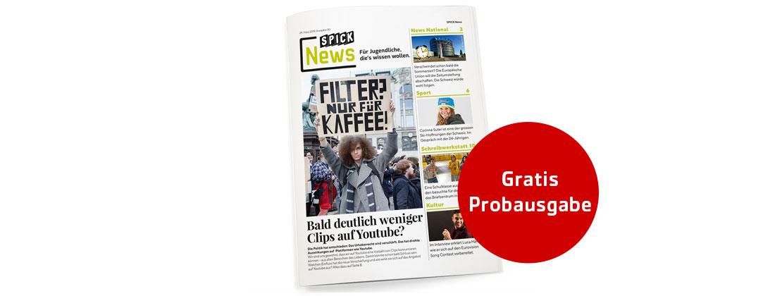 Gratis Probe-Exemplar SPICK News